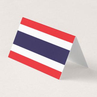Thailand-Flagge Karte