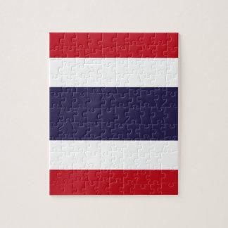 Thailand-Flagge Puzzle