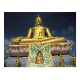 Thailand, KOH Samui Insel. Großer Buddha Postkarten