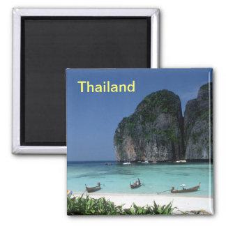 Thailand-Magnet Quadratischer Magnet