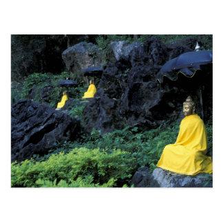 Thailand, Nordthailand, Mae Hong Son, 2 Postkarten