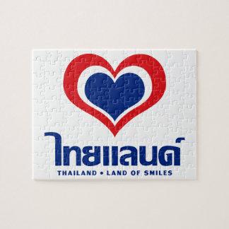 Thailand ♦ thailändische Sprachskript ♦ der Puzzle