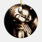 Thailändische Buddha-Klugheit Keramik Ornament