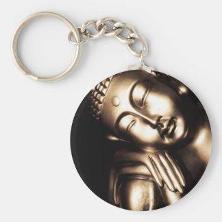 Thailändische Buddha-Klugheit Schlüsselanhänger
