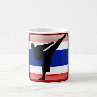Thailändische Flagge Kaffeetasse