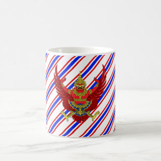 Thailändische Streifenflagge Kaffeetasse