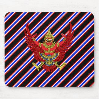 Thailändische Streifenflagge Mousepad