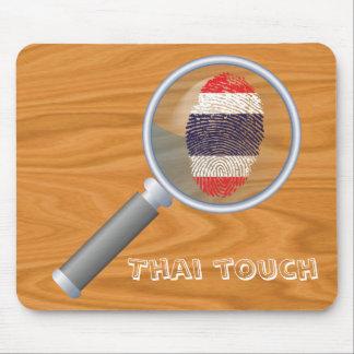 Thailändische Touchfingerabdruckflagge Mousepad