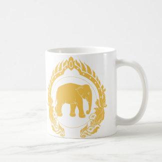 Thailändischer Elefant Kaffeetasse