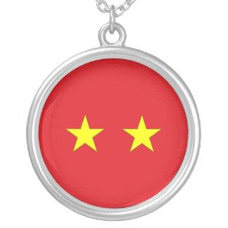 Thailändischer Generalmajor, Thailand-Flagge Halsketten