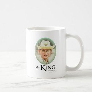 Thailändischer König Bhumibol Adulyadej das große Kaffeetasse