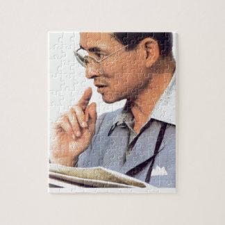 Thailändischer König Bhumibol Adulyadej - Puzzle