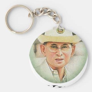 Thailändischer König Bhumibol Adulyadej - Schlüsselanhänger