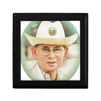 Thailändischer König Bhumibol Adulyadej - Schmuckschachtel