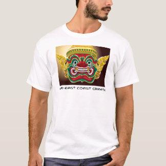 Thailändischer Yak-Tempel-Wächter T-Shirt