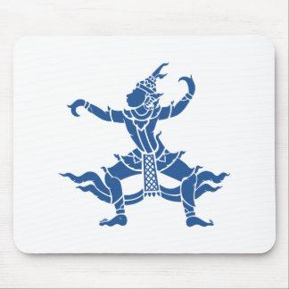 Thailändisches Tänzer ⚠ Thailand-Zeichen ⚠ Mousepad