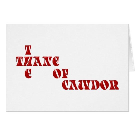 thane of Cawdor Karte