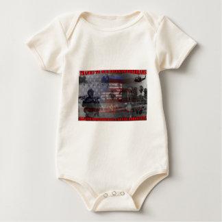 Thank the brave Viet-Nam Veterans Baby Strampler