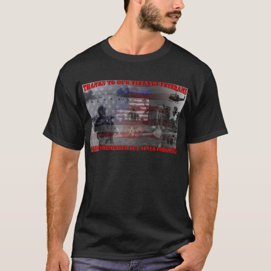 Thank the brave Viet-Nam Veterans T-Shirt