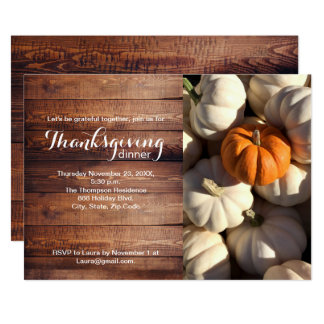 Thankgiving, Kürbis, Fall Karte