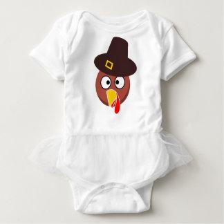 thanksgiving_turkey_pilgrim_hat2 baby strampler