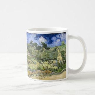 Thatched Hütten bei Cordeville - Vincent van Gogh Kaffeetasse