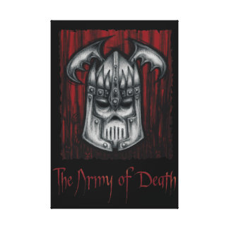 The Army of Death Leinwanddruck