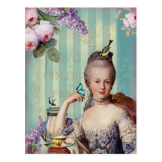 Thé Au kleines Trianon Postkarte