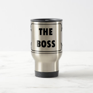 THE BOSS GLASS EDELSTAHL THERMOTASSE