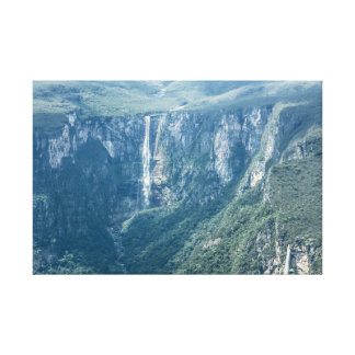 The Brazilian biggest fall water Leinwanddruck
