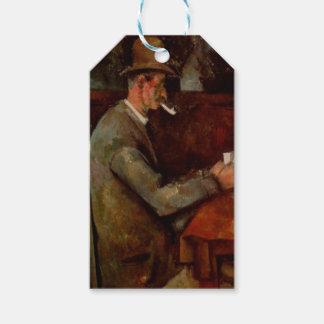 The Card Players, Claude Cezanne, Geschenkanhänger