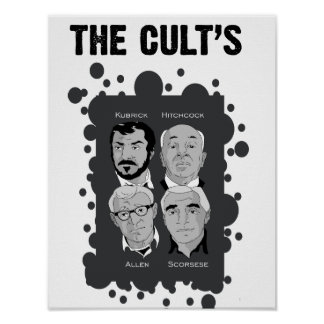 The Cults Poster