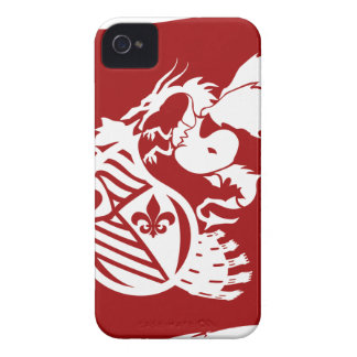 The_Dragon_Strikes Case-Mate iPhone 4 Hülle