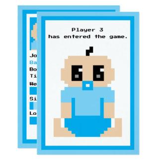 The Game-Baby-Mitteilung des Spieler-3 eingeführte Karte