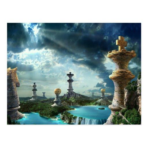 The Game - Postkarte