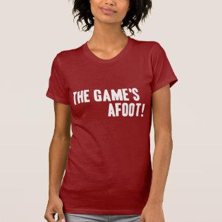The Games im Gange! Dunkler Damen-T - Shirt