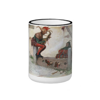 """THE GRAPHIC """"TWO FOOLS"""" II (1909) RINGER TASSE"""
