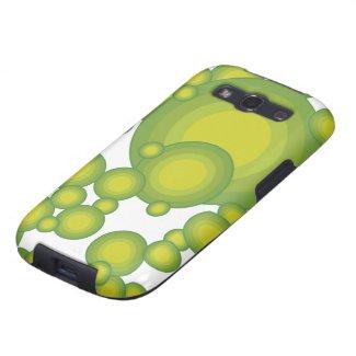 Grüne Blasen Schutzhülle Fürs Samsung Galaxy S3