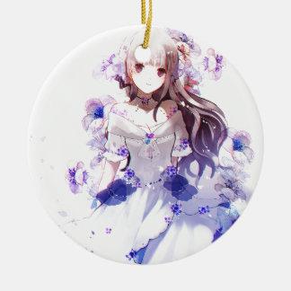 The Guardian der sibirischen Iris Keramik Ornament