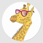 The Hipster Giraffe Stickers