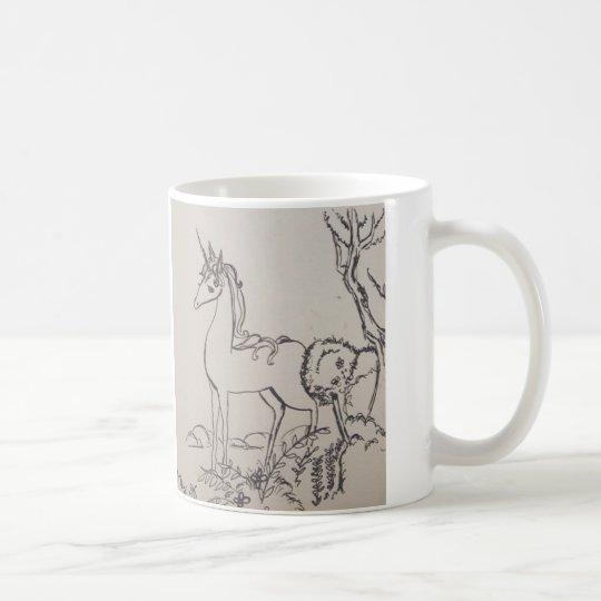 The last unicorn kaffeetasse