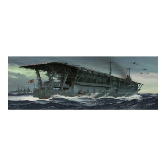The last voyage of the Kaga Poster