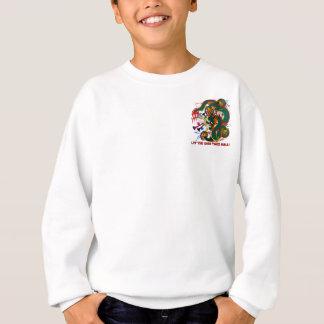 The-Mardi Gras Tasche nur Drache-V-2-T Sweatshirt