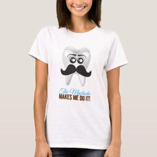 The mustache make ich C it T-Shirt