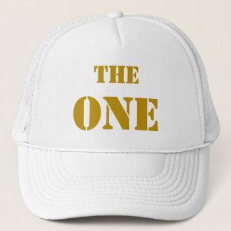 """THE ONE. Die Mütze von erst """"ein"""", im GOLD"""