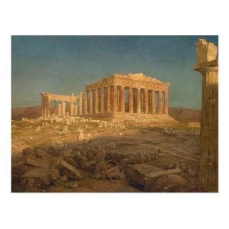 The Parthenon, Frederic Edwin Church - ,(1871) Postkarte