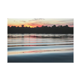 The Schwarzer Amazon landscapes - Rio Leinwanddruck