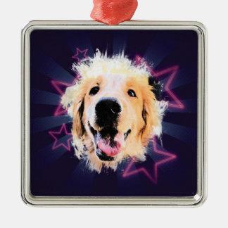 The Star Ornament Golden
