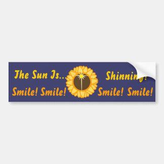 The Sun ist Shinning-Besonders anfertigen Autoaufkleber