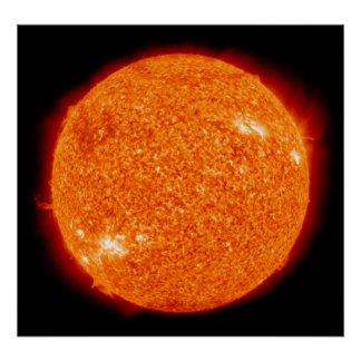 The Sun Plakate